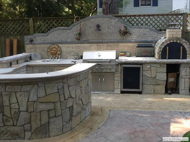New Orleans Outdoor Kitchen